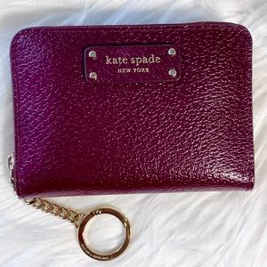 Kate Spade CHERRYWOOD small continental wallet 😊